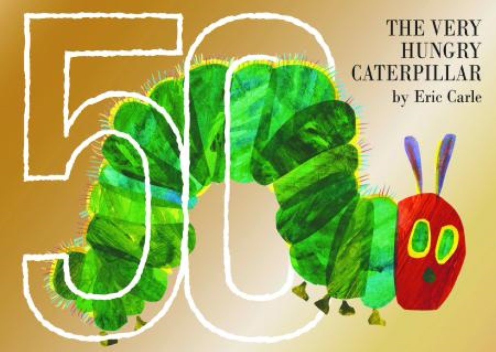 Bambinista-THE VERY HUNGRY CATERPILLAR-Books-Very Hungry Caterpillar 50th Anniversary Edition Book