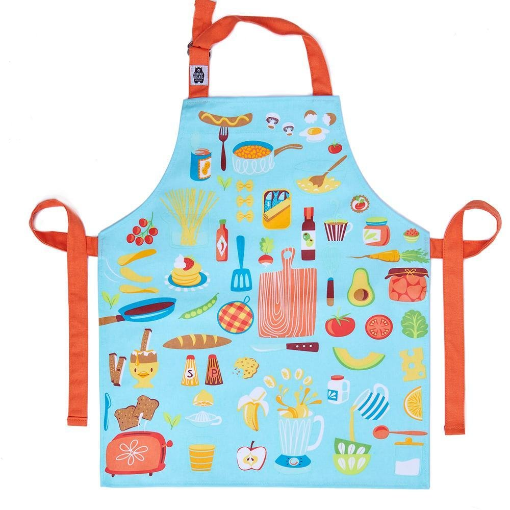 Bambinista-THREADBEAR DESIGN-Accessories-Let's Cook Cotton Apron