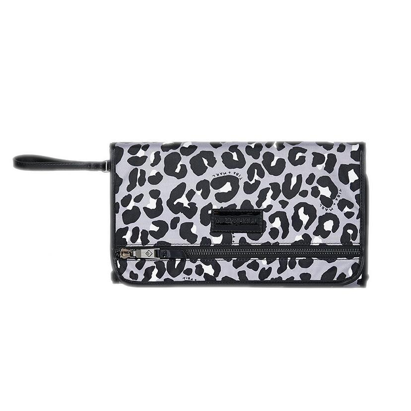 Bambinista-TIBA + MARL-Accessories-Etta Clutch Changing Clutch Mono Leopard