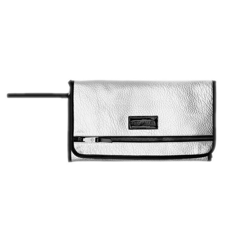 Bambinista-TIBA + MARL-Accessories-Etta Clutch Changing Clutch Silver