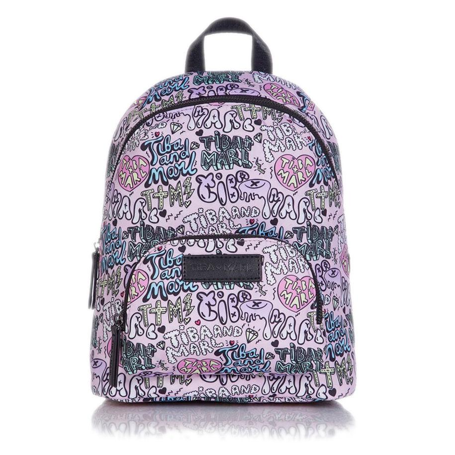 Bambinista-TIBA + MARL-Accessories-Mini Elwood Kids Backpack Boom Print