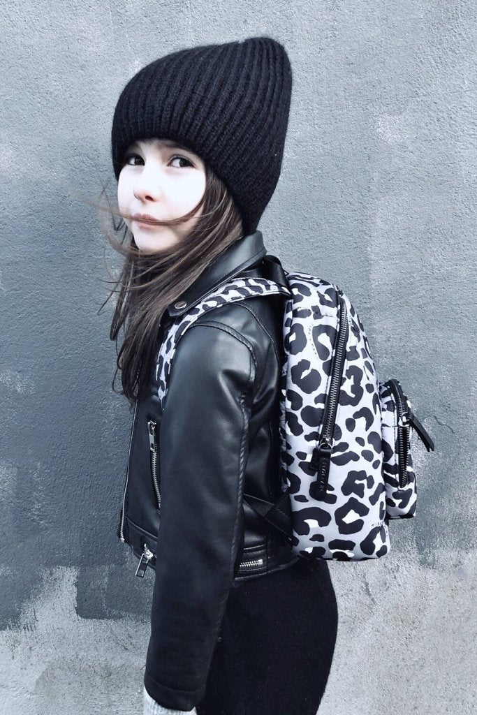 Bambinista-TIBA + MARL-Accessories-Mini Elwood Kids Backpack Mono Leopard