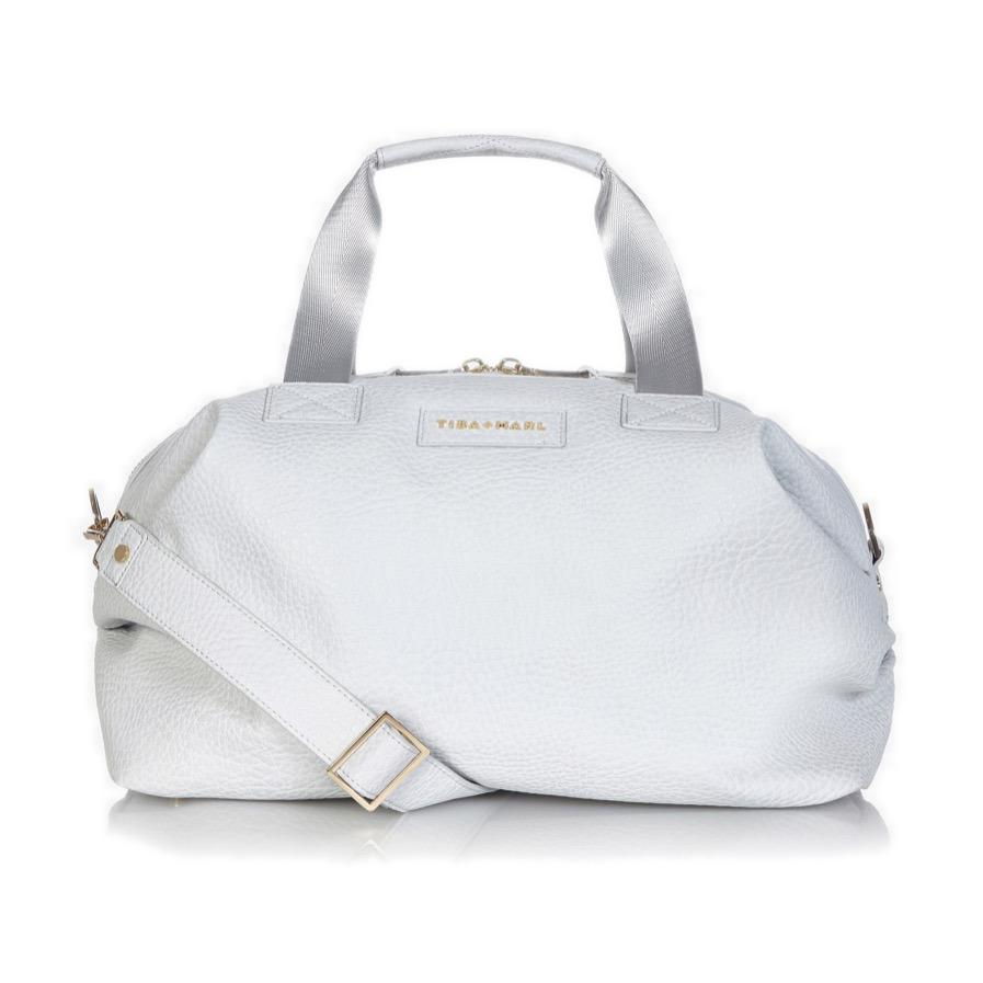 Bambinista-TIBA + MARL-Accessories-Raf Holdall Changing Bag Pale Grey