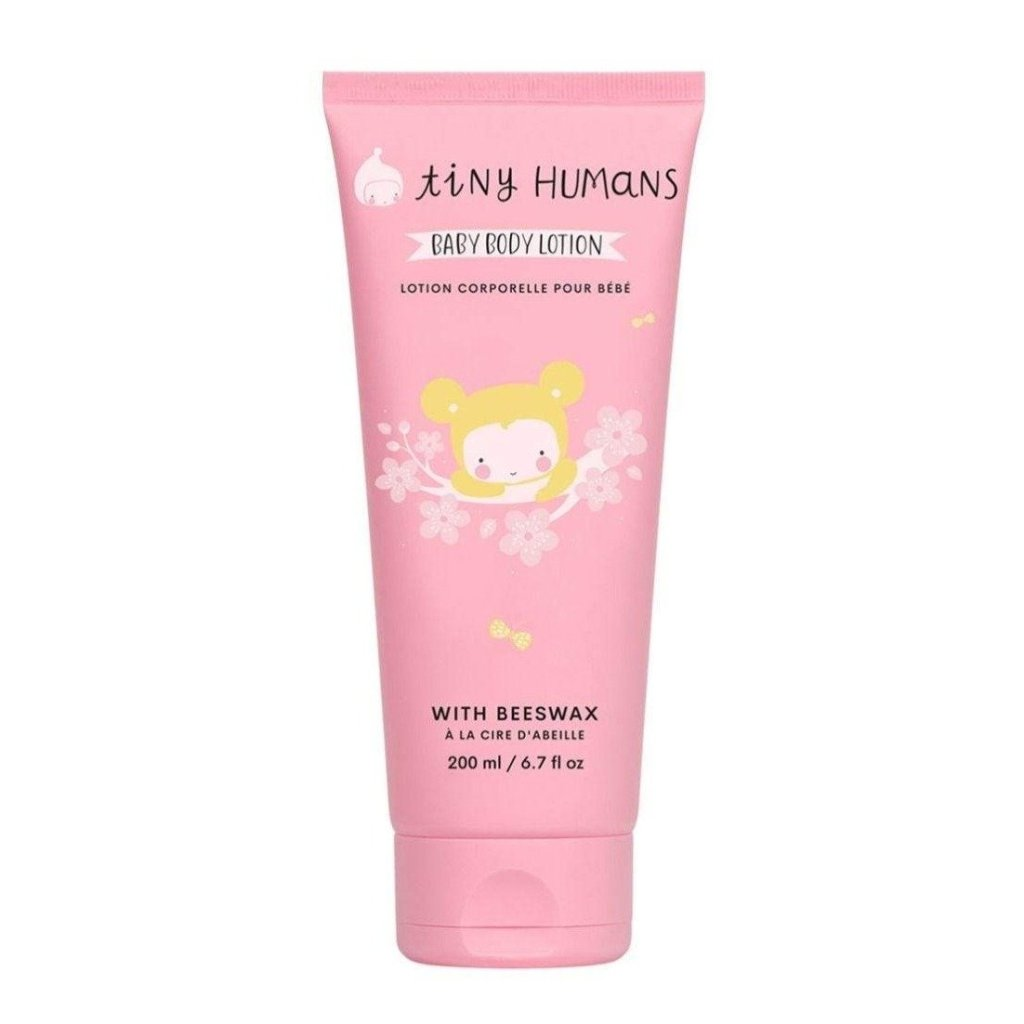 Bambinista-TINY HUMANS-Baby Care-Baby Body Lotion with Beeswax 200ML / 6.7 fl oz