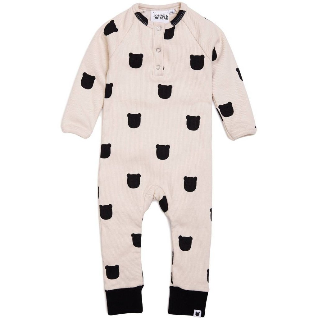 Bambinista-TOBIAS & THE BEAR-Rompers-Bear Blush Romper