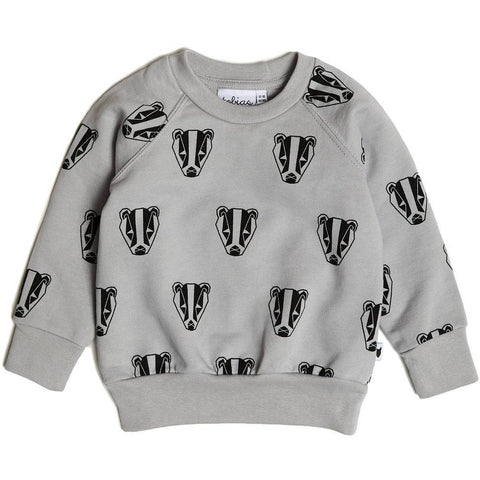 Bambinista-TOBIAS & THE BEAR-Tops-Boris the Badger Sweatshirt