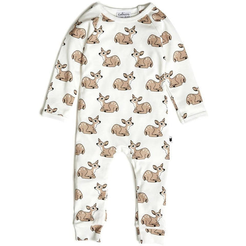 Bambinista-TOBIAS & THE BEAR-Rompers-Fawn Long Romper