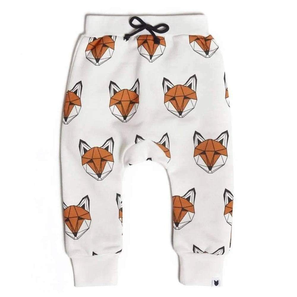 Bambinista-TOBIAS & THE BEAR-Bottoms-Just Call Me Fox joggers - Classic Print