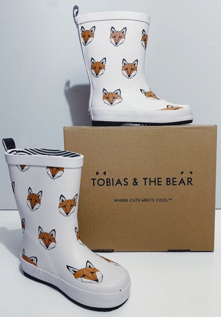 Bambinista-TOBIAS & THE BEAR-Shoes-Just Call Me Fox Rainboots