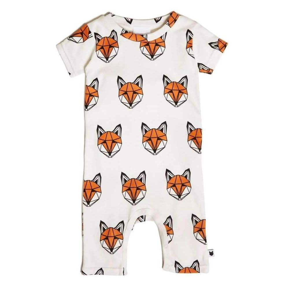 Bambinista-TOBIAS & THE BEAR-Romper-Just Call Me Fox Shorty Romper
