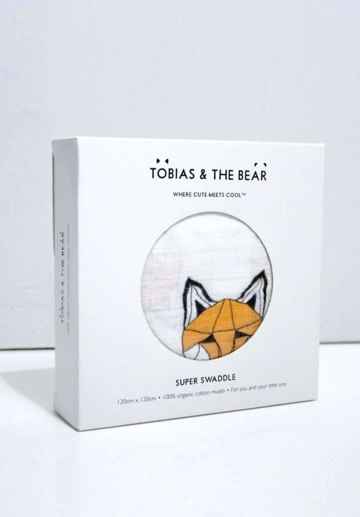 Bambinista-TOBIAS & THE BEAR-Blankets-Just Call Me Fox Super Swaddle