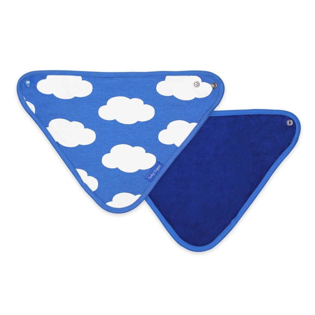 Bambinista-TOBY TIGER-Accessories-Organic Cloud Dribble Bib