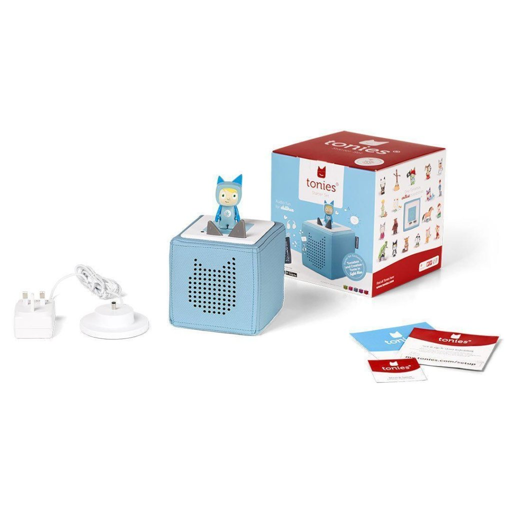 Bambinista-TONIES-Toys-Toniebox Starter Set - Light Blue