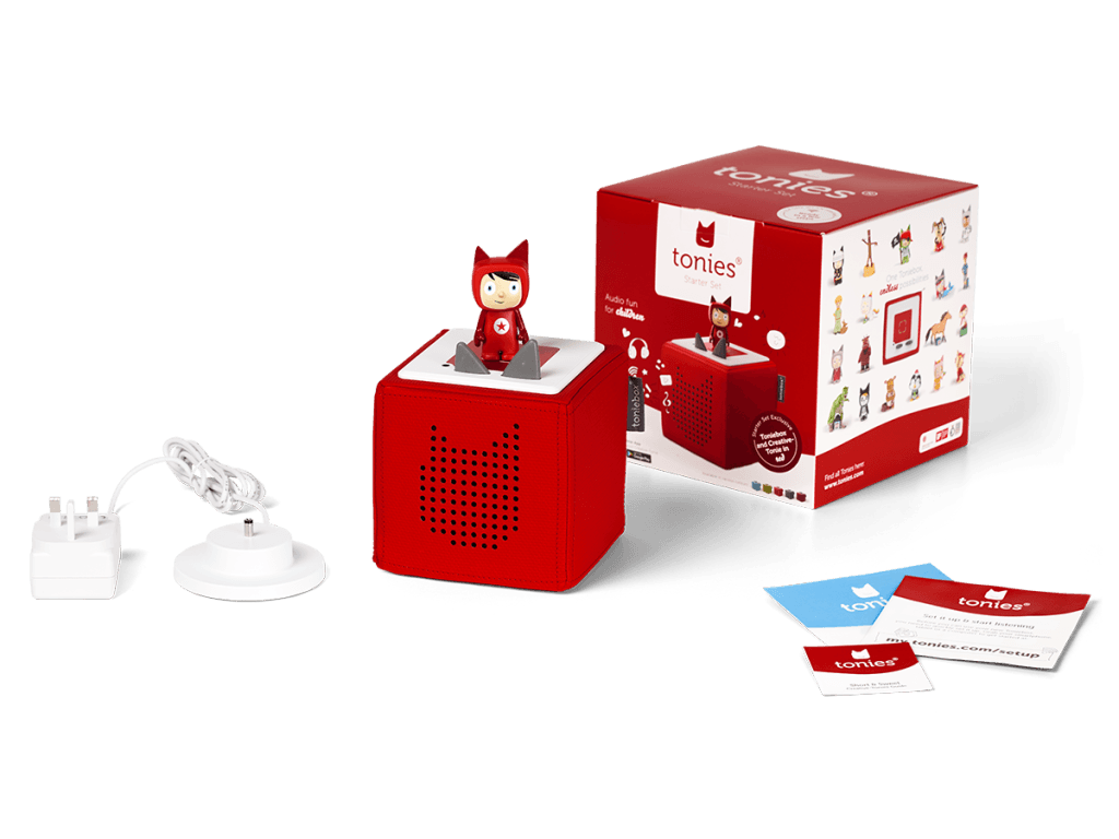 Bambinista-TONIES-Toys-Toniebox Starter Set - Red
