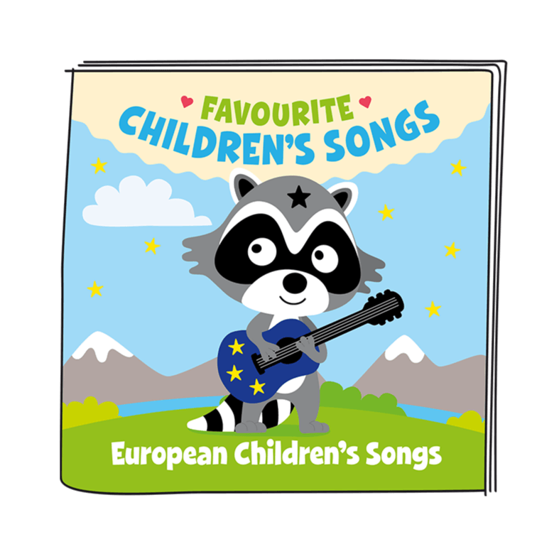 Bambinista-TONIES-Toys-Tonies Favourite Children's Songs - European Children's Songs