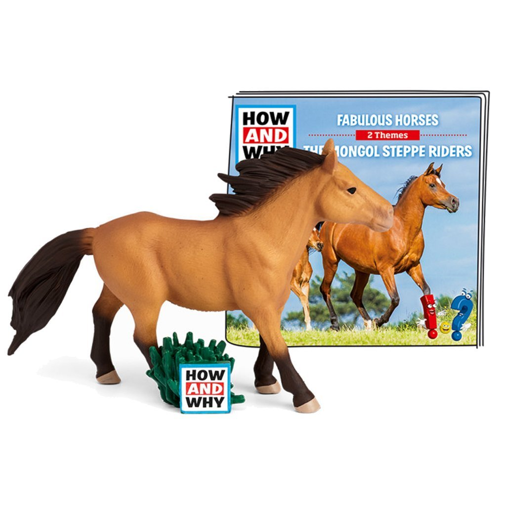 Bambinista-TONIES-Toys-Tonies How and Why - Horses / The Mongol Steppe Riders