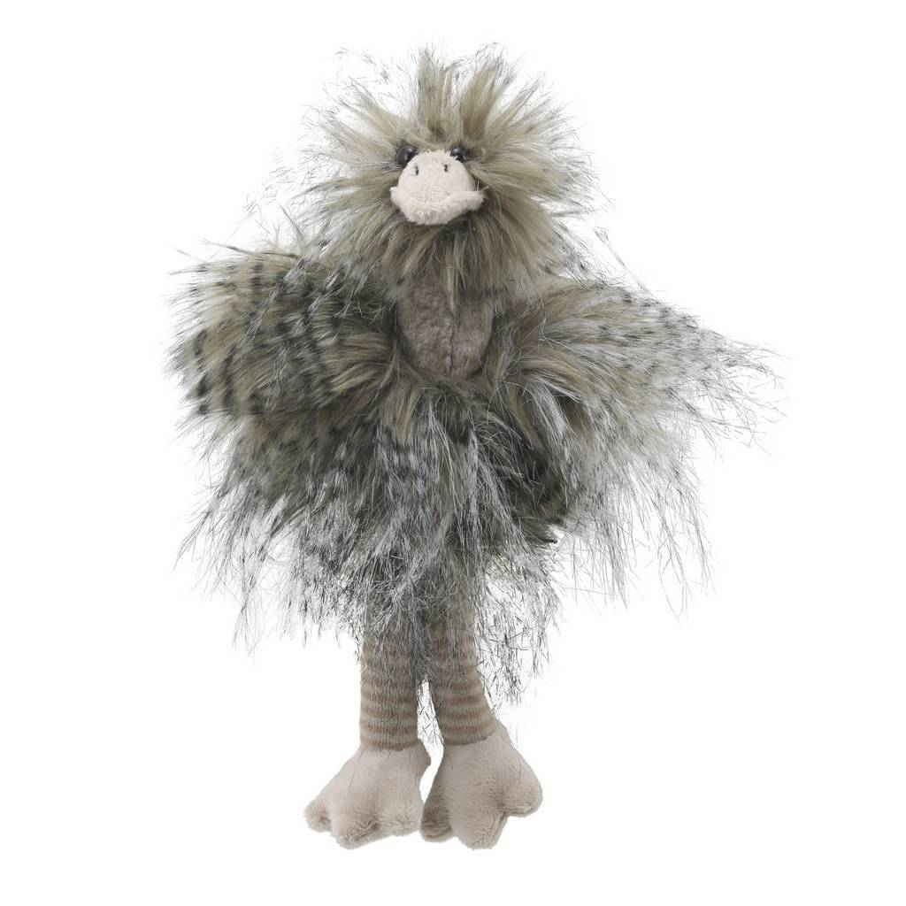 Bambinista-WILBERRY-Toys-Wilberry Feathery Friends Ostrich