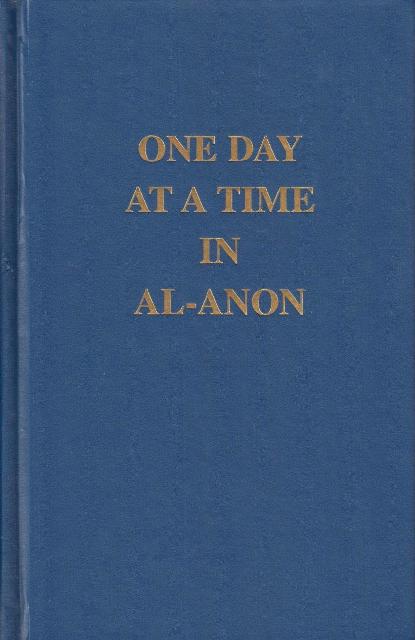 One Day at a Time in Al-Anon - Large Print