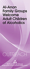 Adult Children of Alcoholics Newcomer Packet