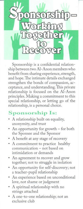 Sponsorship Bookmark
