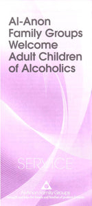 Al-Anon Welcomes Adult Children of Alcoholics