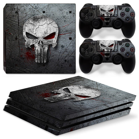 Skull Skin Stickers for PS4 Vinyl Decals