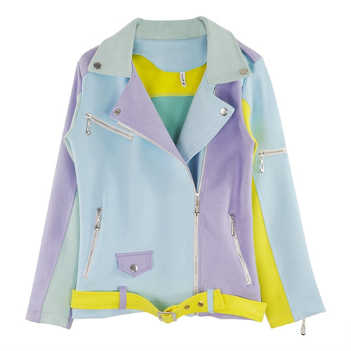 Patchwork Pastel Jacket