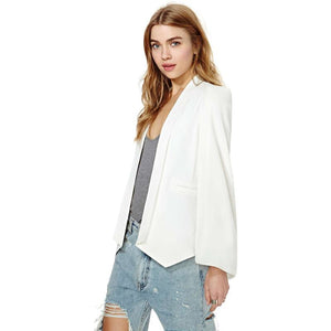 Cape Blazer-[women's clothing]-truthincloth