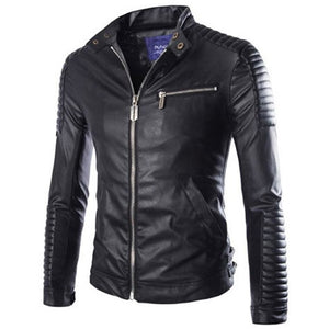 The Leather Biker Jacket-[men's fashion]-truthincloth
