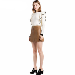 Christian Ruffle Knit-[women's clothing]-truthincloth