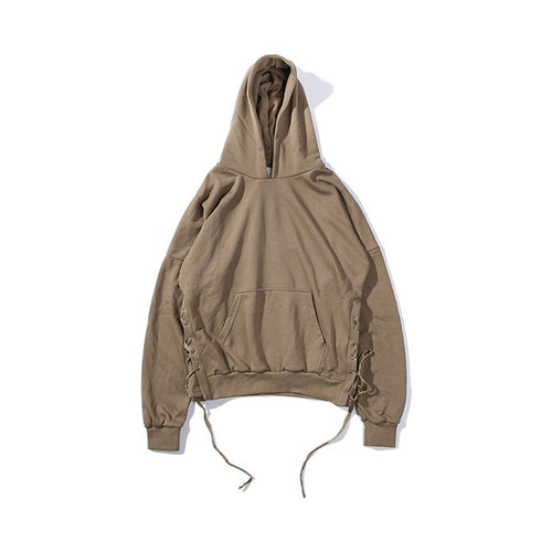 The Side Tie Hoodie-[men's fashion]-truthincloth
