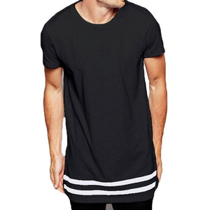 Double Stripe T-[men's fashion]-truthincloth