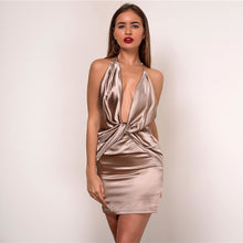 Hart Satin Dress-[women's clothing]-truthincloth