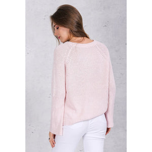 Elena Knit Sweater-[women's clothing]-truthincloth