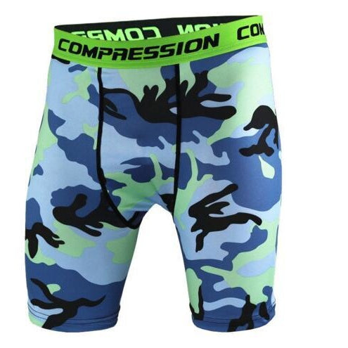 Camo Compression Short-[men's fashion]-truthincloth