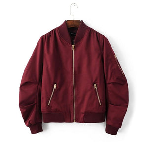 Classic Bomber-[women's clothing]-truthincloth