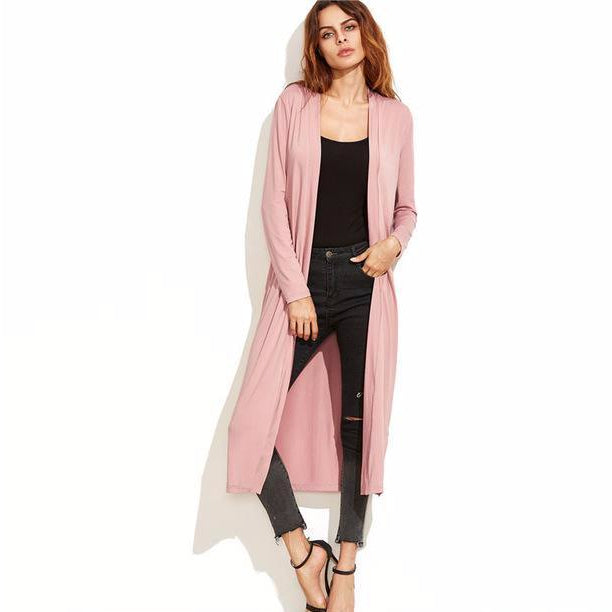 Longline Duster-[women's clothing]-truthincloth