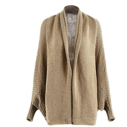 Batwing Cardigan-[women's clothing]-truthincloth