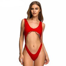 Cut Out One Piece-[women's clothing]-truthincloth