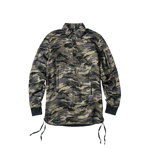 The Camo Quarter Button-[men's fashion]-truthincloth
