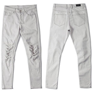 The Distressed Biker Denim-[men's fashion]-truthincloth