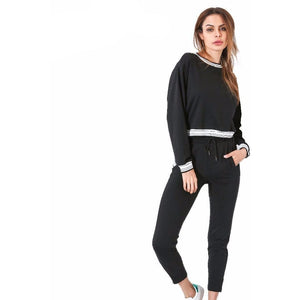 Banded Tracksuit-[women's clothing]-truthincloth