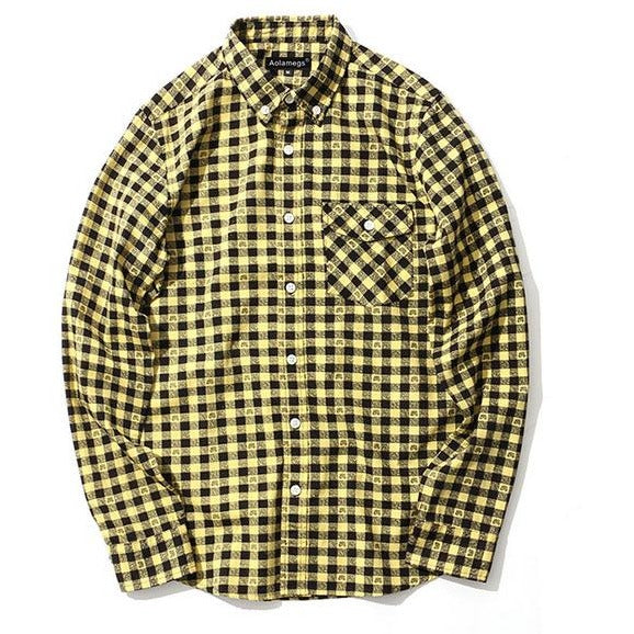The Yellow Shirt-[men's fashion]-truthincloth
