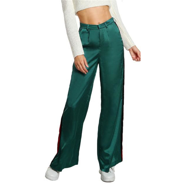 Wide Leg Web Pant-[women's clothing]-truthincloth