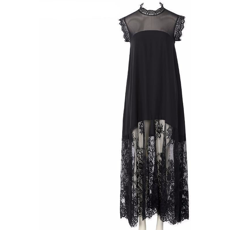 Chiffon Maxi Dress-[women's clothing]-truthincloth