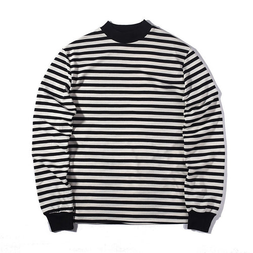 The Mock Stripe T-[men's fashion]-truthincloth