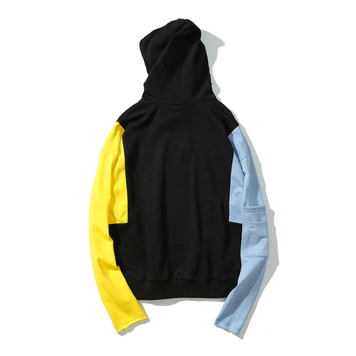 The Patchwork Long Hoodie