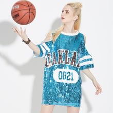 Sequin Oakland Dress