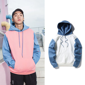 The Patchdenim Hoodie