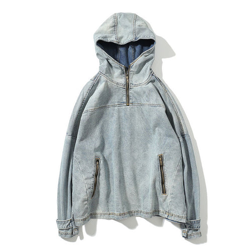 The Denim Hoodie